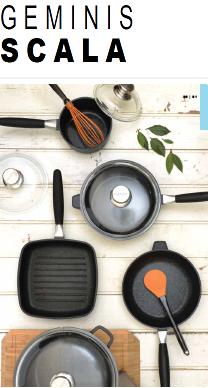 Серия посуды Geminis Scala от Berghoff